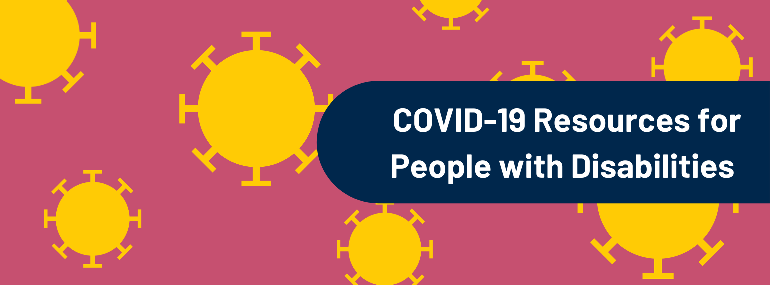 covid-19 resources from MDisability