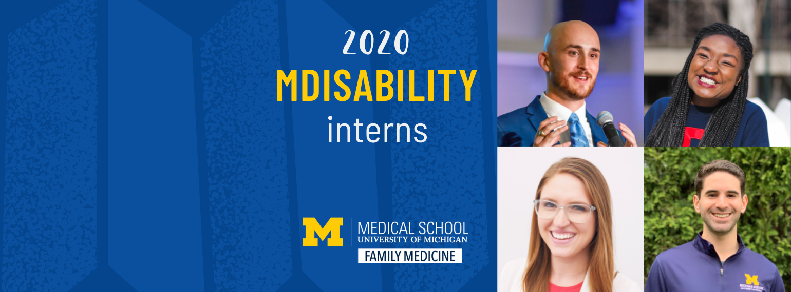 2020 MDisability Interns
