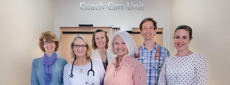 Chad Carr Pediatric Brain Cancer Center Team