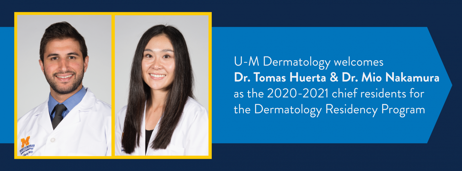 Dermatology Chief Residents 2020-2021