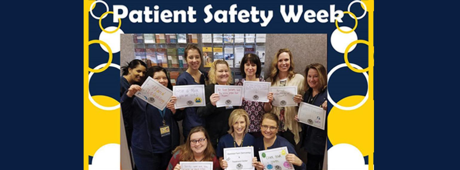 Domino's Farms Clinic Staff Took Part in Patient Safety Awareness