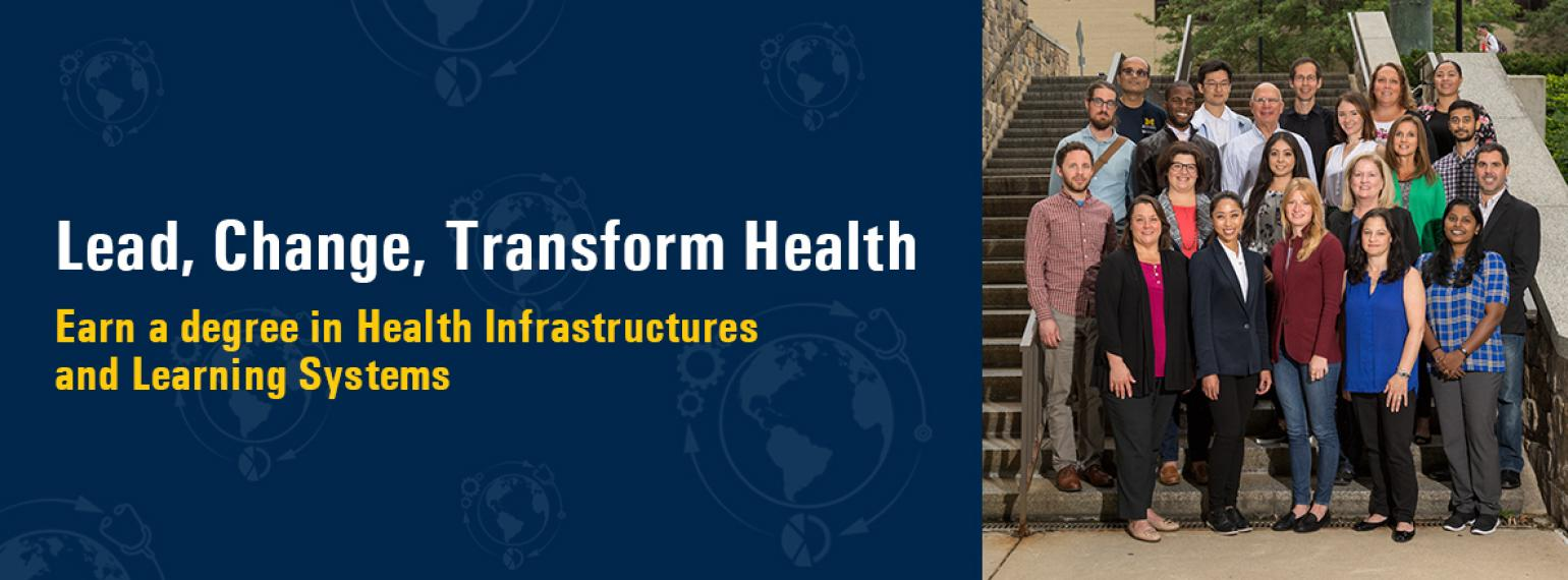 Online Master's and PhD in Health Infrastructures & Learning Systems