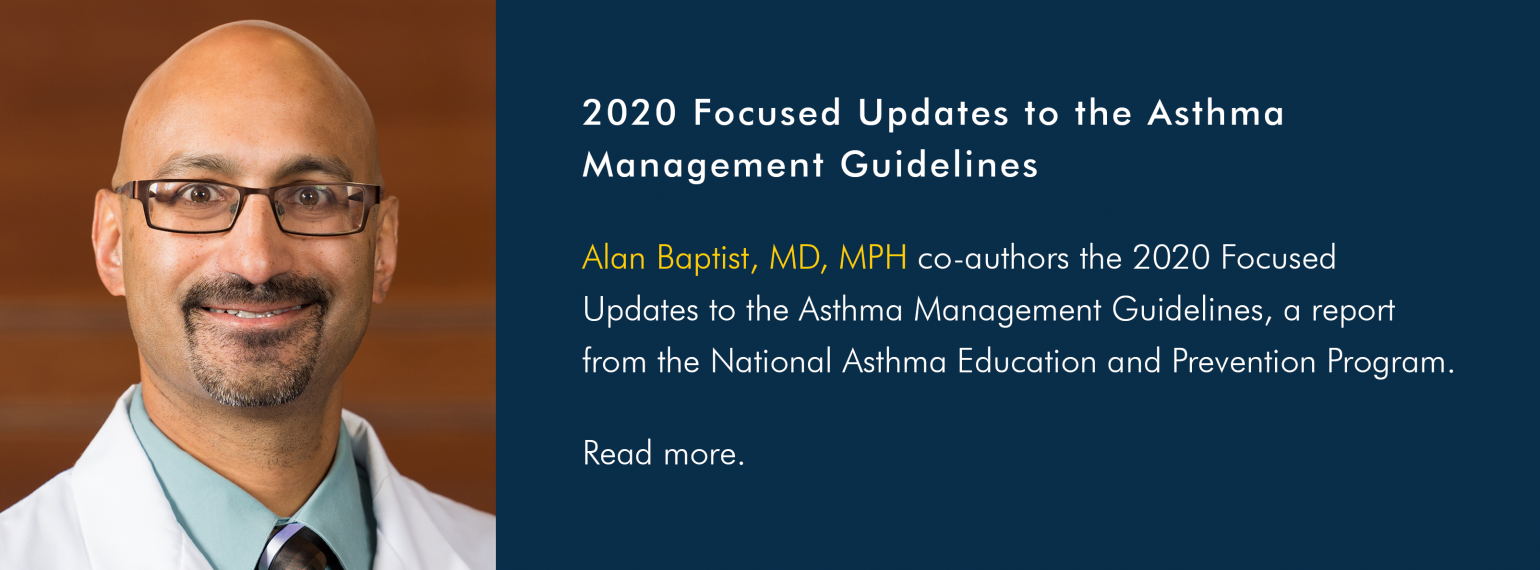 2020 Focused Updates to the Asthma Management Guidelines
