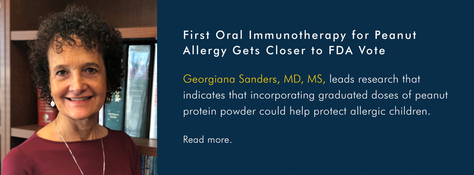 U-M Allergy & Clinical Immunology, Dr. Georgiana Sanders