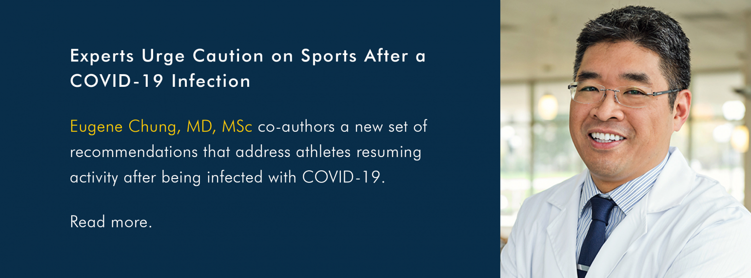 Experts Urge Caution on Sports After a COVID-19 Infection