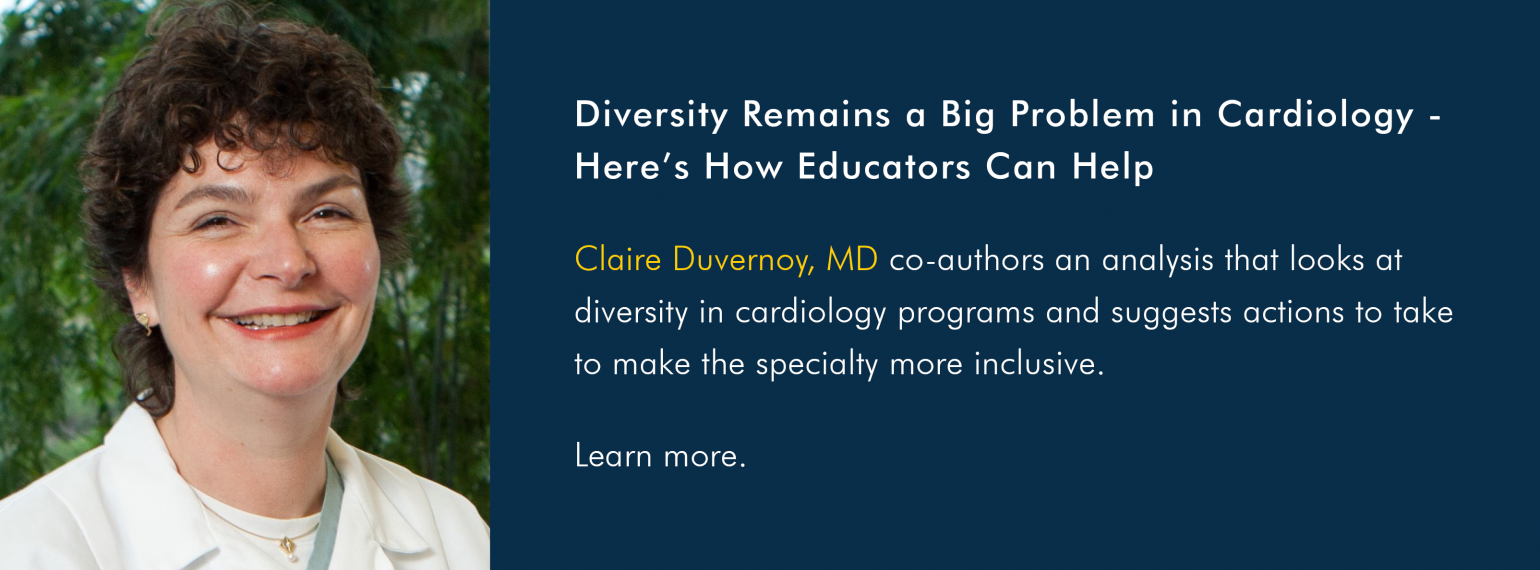 Diversity Remains a Big Problem in Cardiology - Here's How Educators Can Help