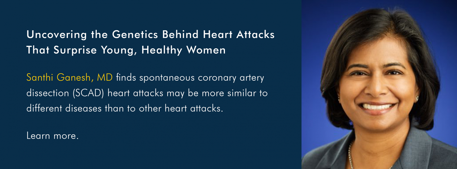 Uncovering the Genetics Behind Heart Attacks That Surprise Young, Healthy Women
