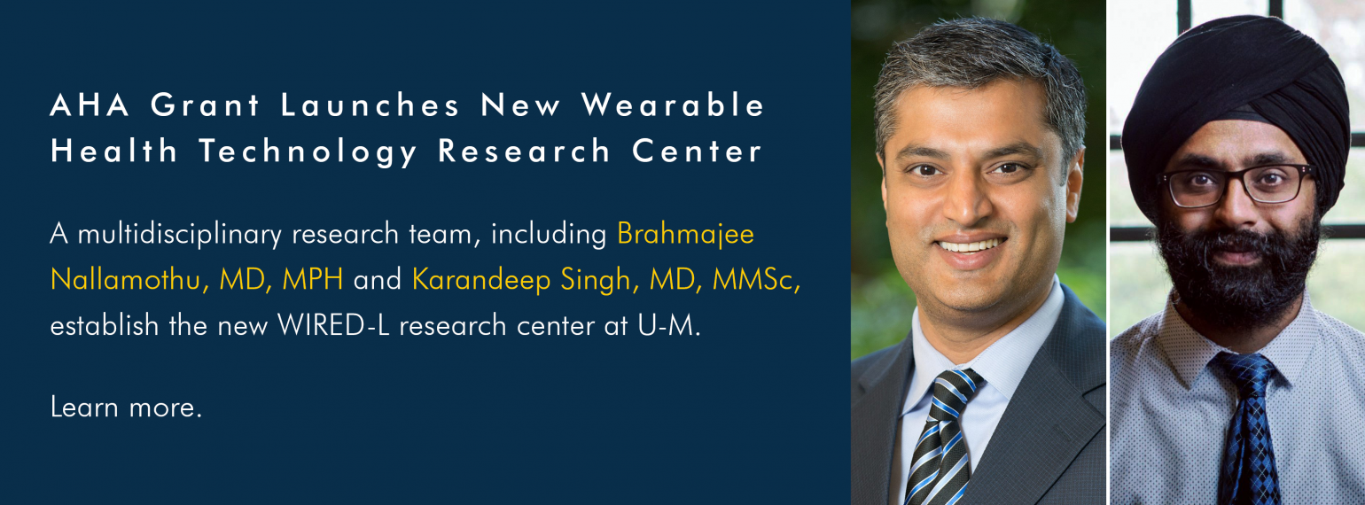 AHA Grant Launches New Wearable Health Technology Research Center