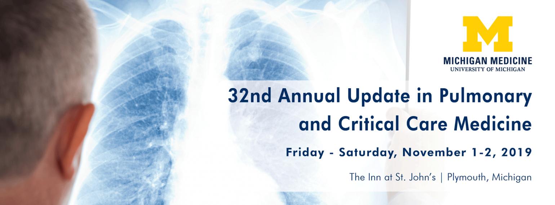 Pulmonary & Critical Care Medicine | Internal Medicine | Michigan