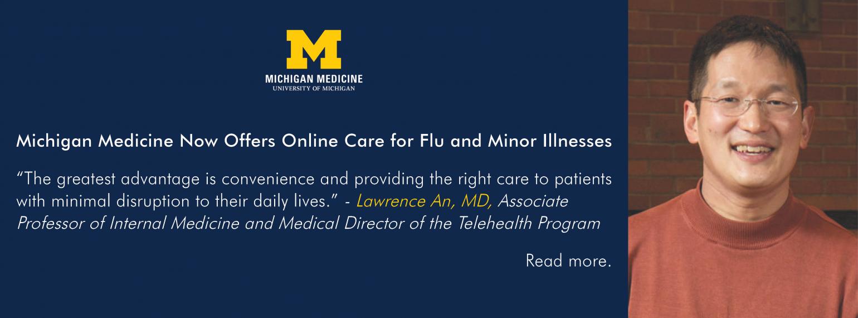 U-M Department of Internal Medicine, Dr. Lawrence An