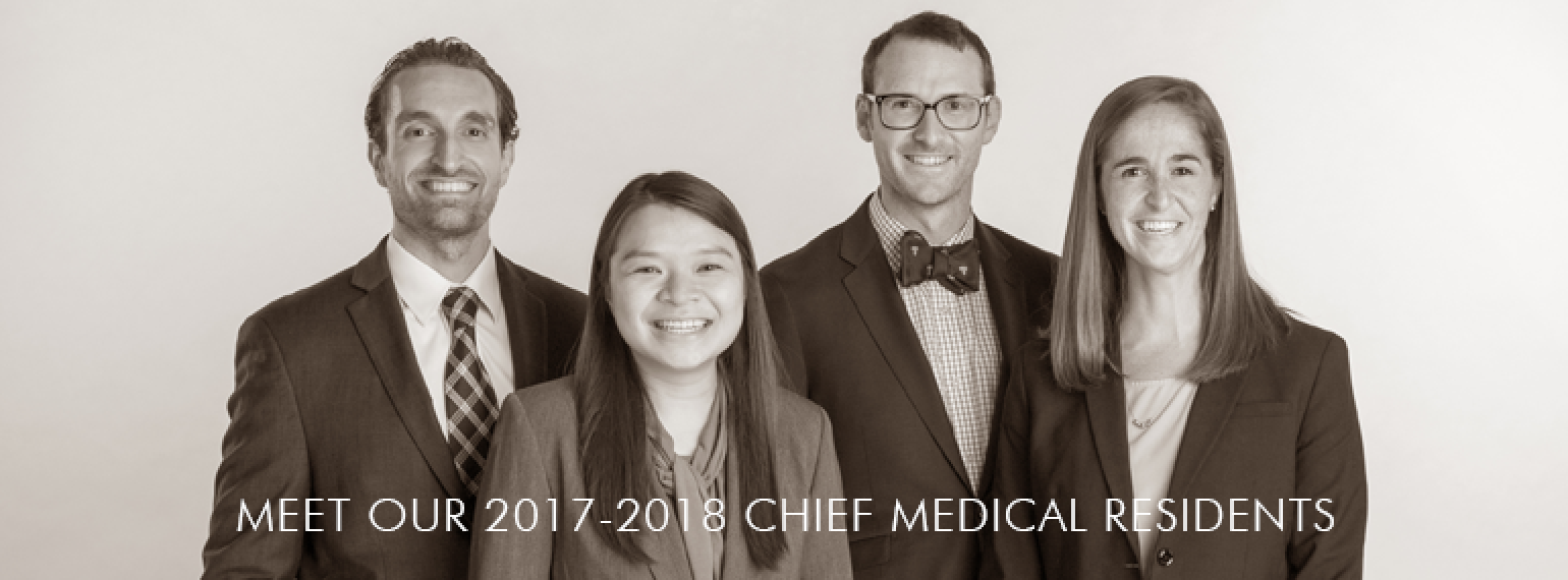 U-M Department of Internal Medicine Chief Medical Residents