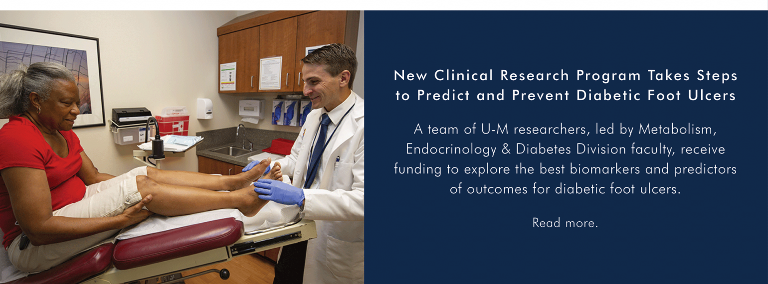 New U-M Clinical Research Program Takes Steps to Predict and Prevent Diabetic Foot Ulcers