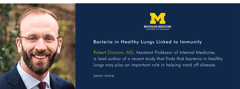 U-M Department of Internal Medicine, Dr. Robert Dickson
