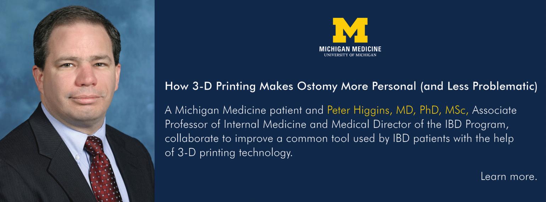 U-M Department of Internal Medicine, Dr. Peter Higgins