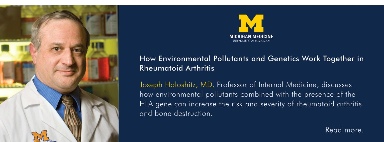 U-M Department of Internal Medicine, Dr. Joseph Holoshitz