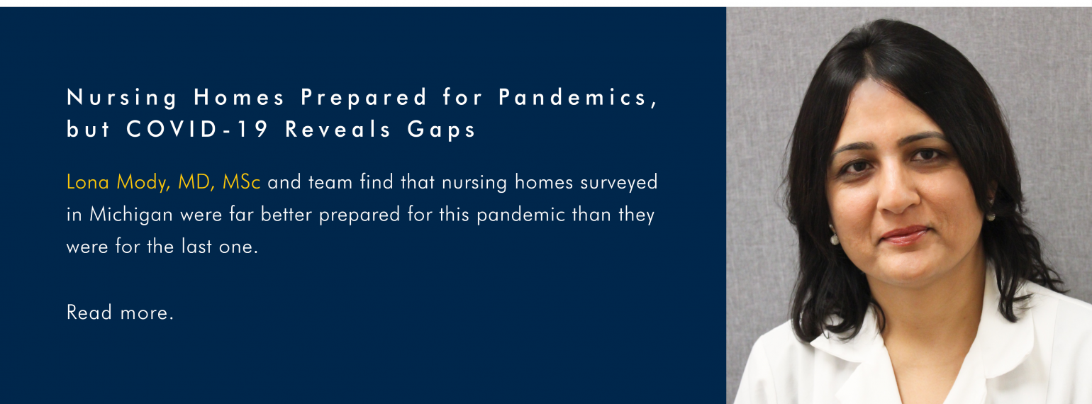 Nursing Homes Prepared for Pandemics, but COVID-19 Reveals Gaps