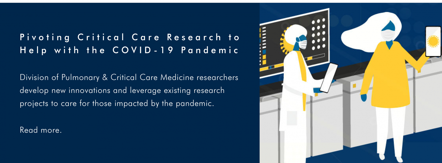 Pivoting Critical Care Research to Help with the COVID-19 Pandemic