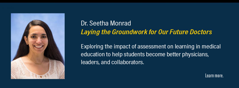 Dr. Seetha Monrad
