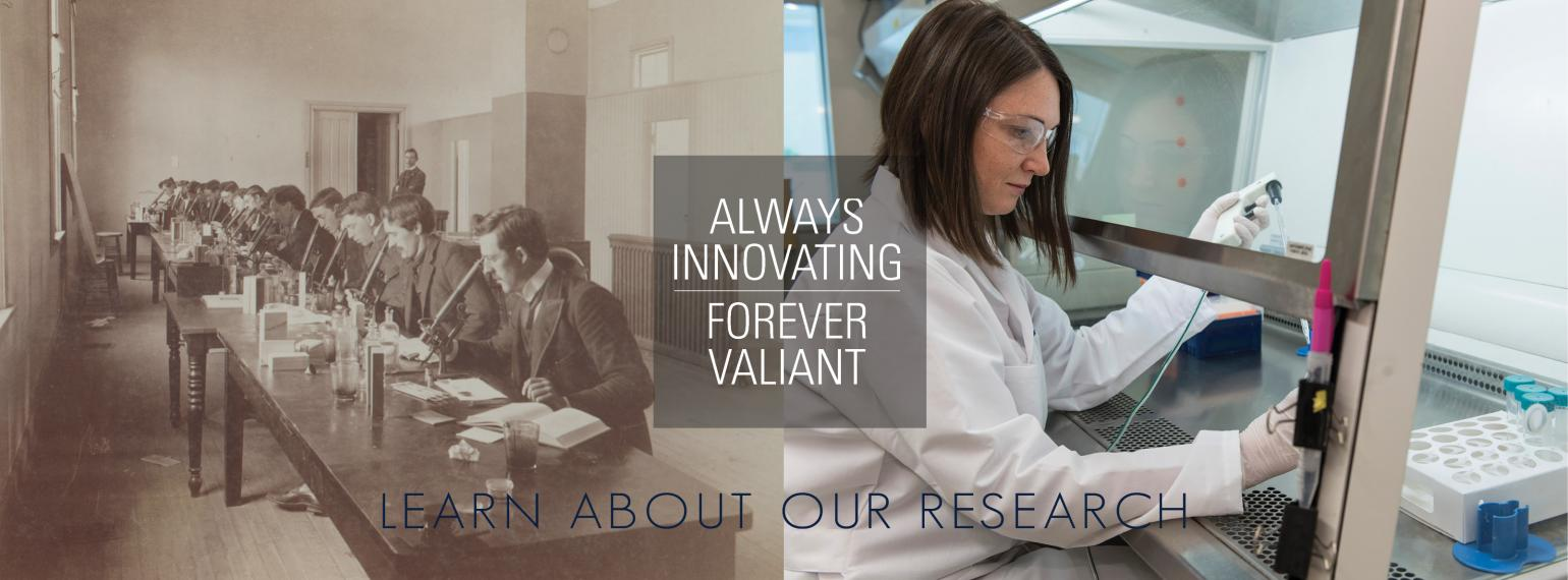 U-M Department of Internal Medicine Research then and now
