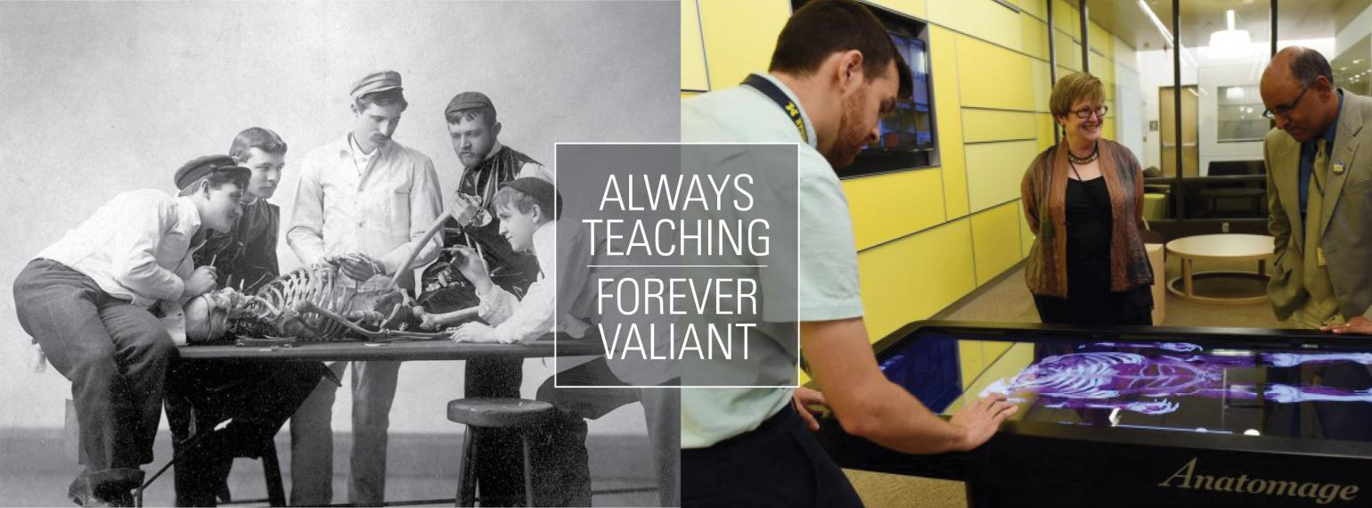 U-M Medical Education Then and Now