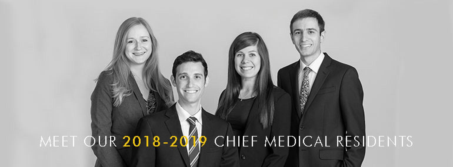 Michigan Medicine Department of Internal Medicine Chief Medical Residents