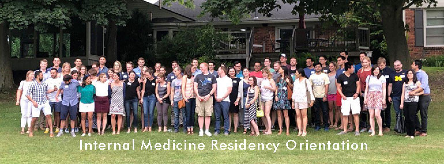 U-M Internal Medicine Residency Orientation