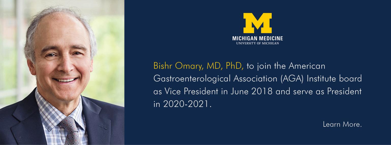 U-M GI & Hepatology Division, Dr. Bishr Omary