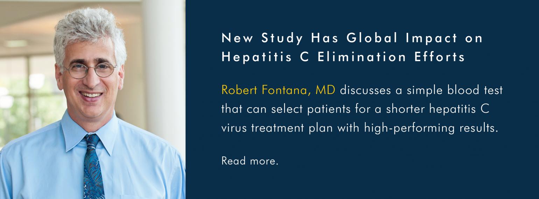 U-M GI & Hepatology Division, Dr. Robert Fontana