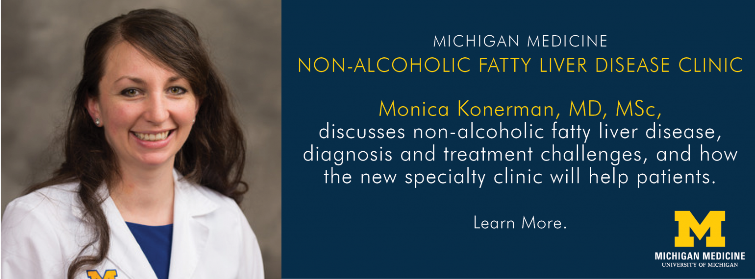 U-M GI & Hepatology Division, Monica Konerman, MD, MSc
