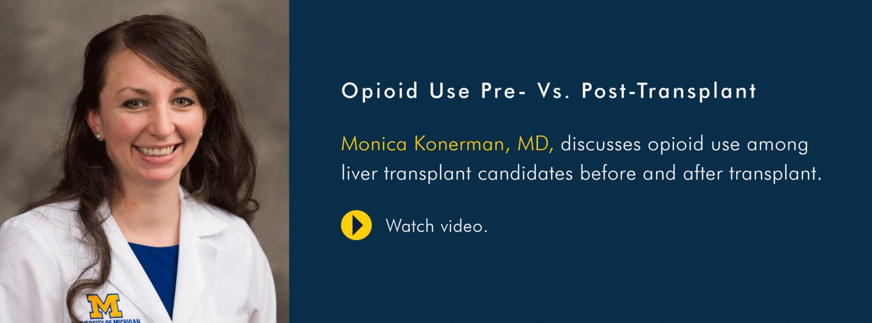 U-M GI & Hepatology Division, Dr. Monica Konerman