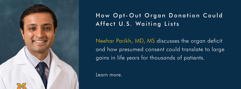 U-M GI & Hepatology Division, Dr. Neehar Parikh