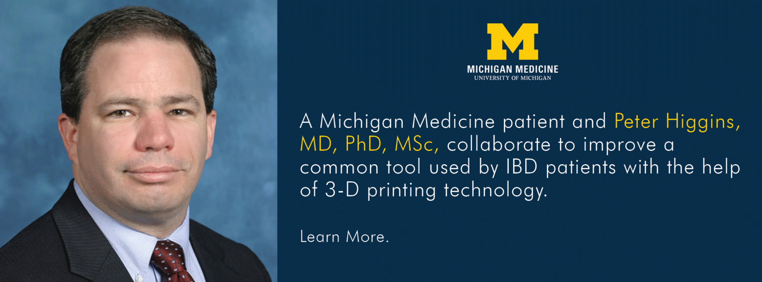 U-M GI & Hepatology Division, Peter Higgins, MD, PhD, MSc