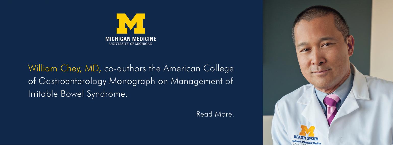 U-M Hepatology & GI Division, Dr. William Chey
