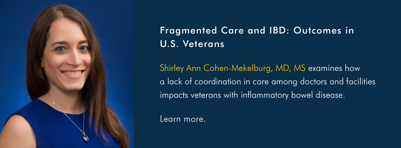 Fragmented Care and IBD: Outcomes in U.S. Veterans