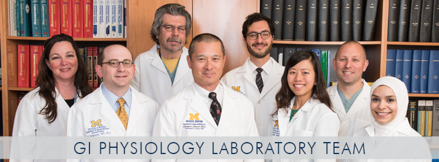 U-M GI Physiology Laboratory Team