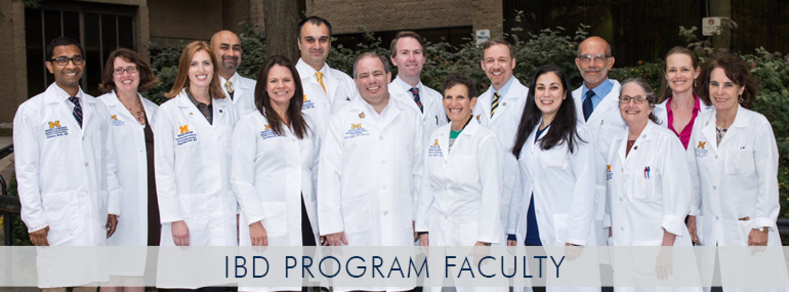 U-M IBD Program Faculty