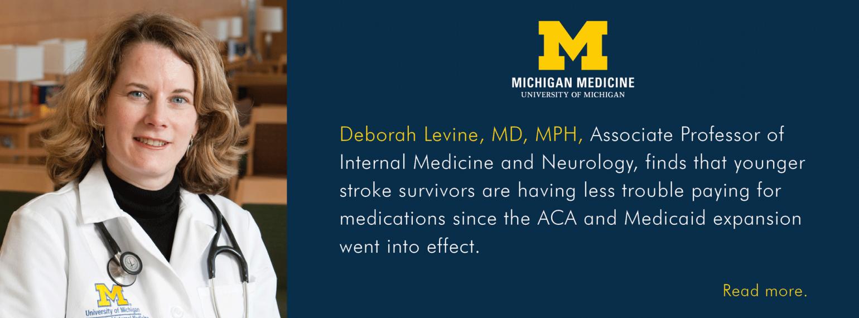 U-M Division of General Medicine, Dr. Deborah Levine