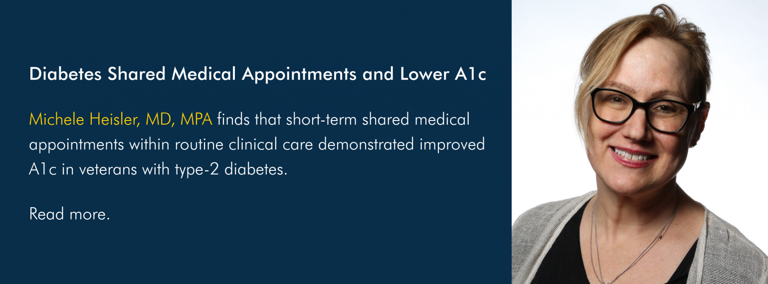 Diabetes Shared Medical Appointments and Lower A1c