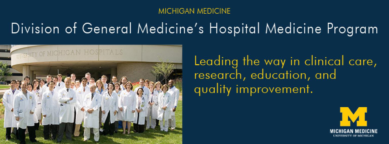 U-M General Medicine's Hospital Medicine Program