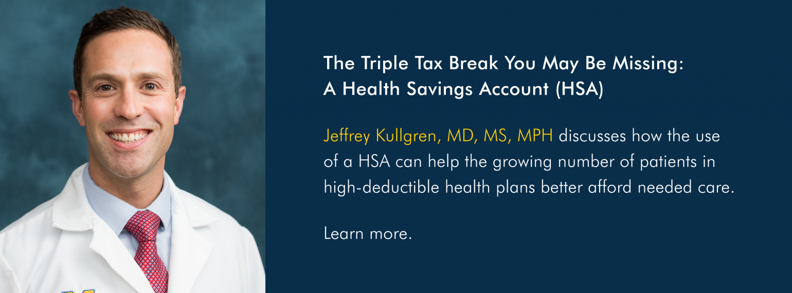 The Triple Tax Break You May Be Missing: A Health Savings Account (HSA)