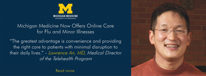 U-M Division of General Medicine, Dr. Lawrence An