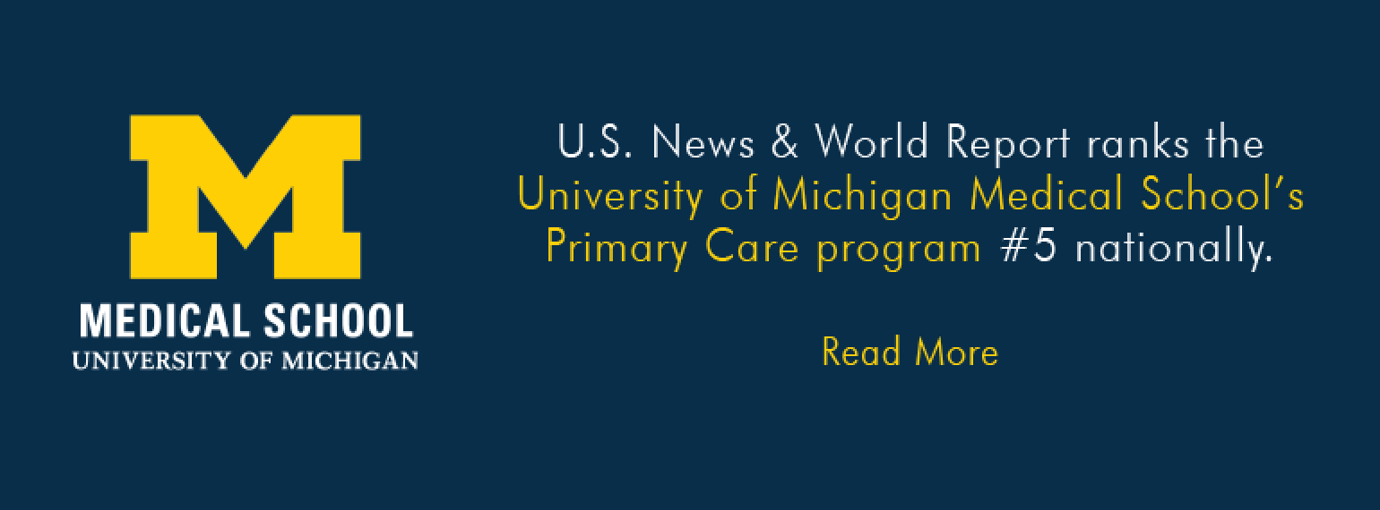 U-M Medical School Primary Care Program