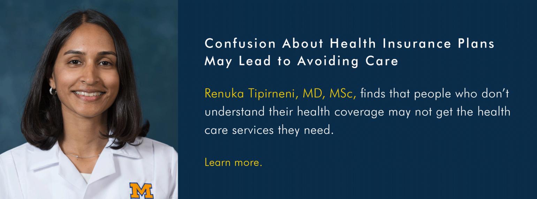U-M Division of General Medicine, Dr. Renuka Tipirneni