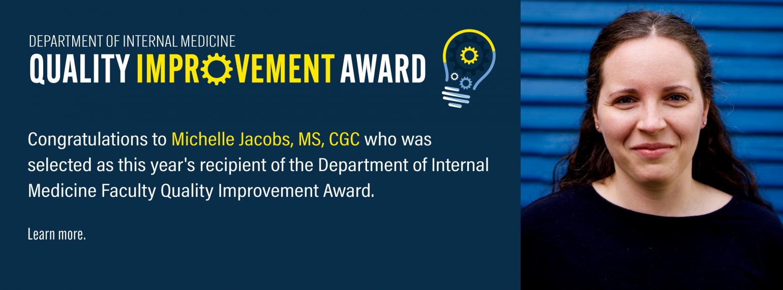 2021-2022 Faculty Quality Improvement Award Recipient