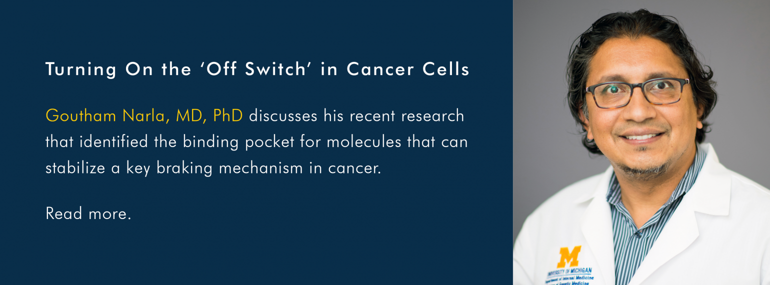 Turning On the 'Off Switch' in Cancer Cells