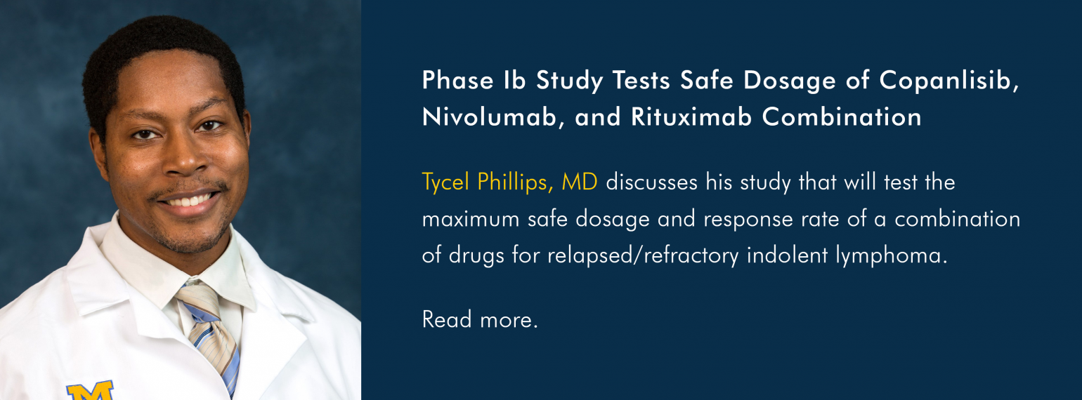 Phase Ib Study Tests Safe Dosage of Copanlisib, Nivolumab, and Rituximab Combination
