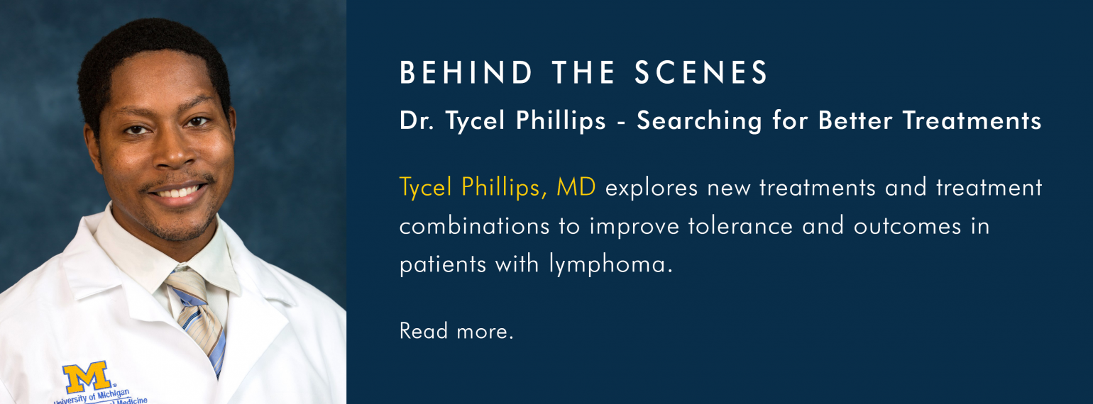Behind the Scenes with Dr. Tycel Phillips
