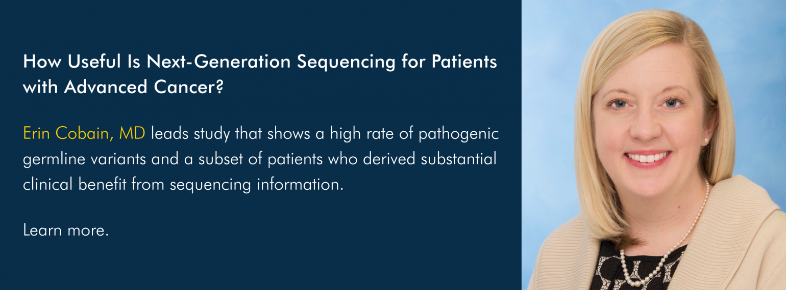 How Useful Is Next-Generation Sequencing for Patients with Advanced Cancer?