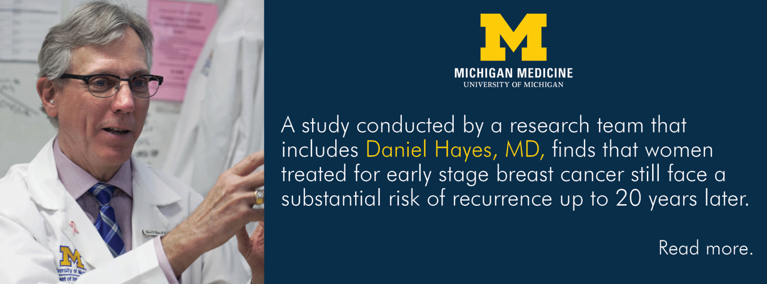 U-M Hematology & Oncology Division, Dr. Daniel Hayes