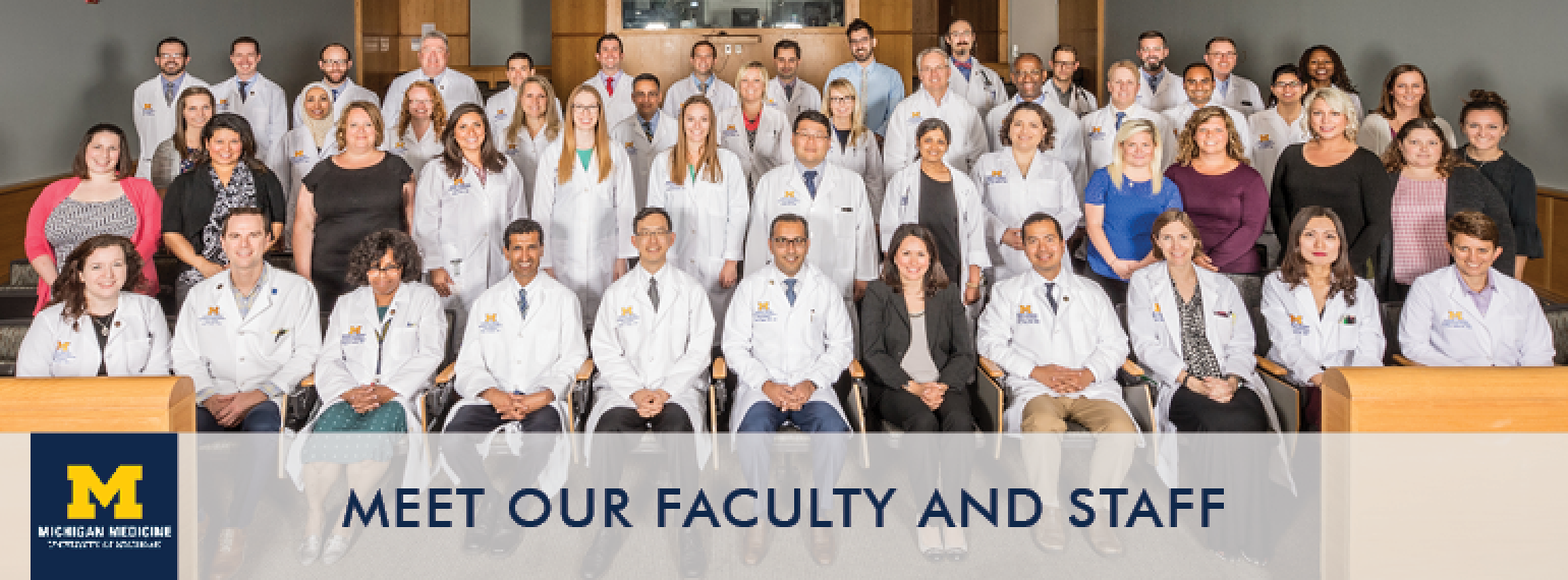 U-M Hospital Medicine Division Faculty & Staff